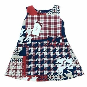 BYBLOS**Houndstooth Girls Dress***Age 3 $248